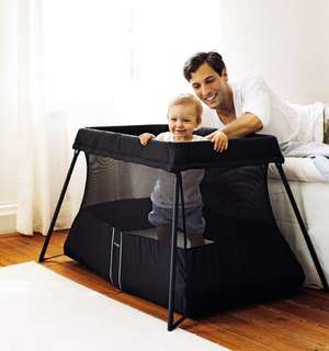 Baby portable travel bed babybjorn