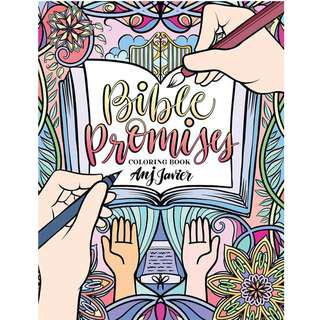 Bible Promises Coloring Book by Anj Javier