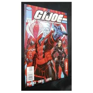 GI Joe A Real American Hero #2 (Image) Comic (J Scott Campbell Cover)