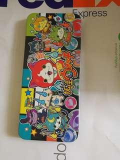 全新購自日本妖怪手錶鐵筆盒