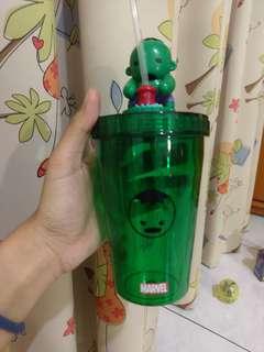 🚚 全家 綠巨人浩克杯子