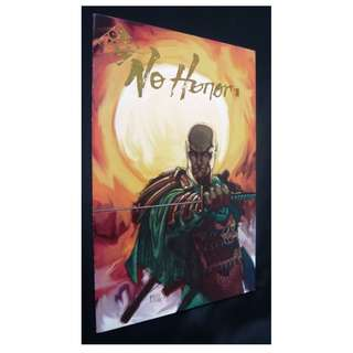 No Honor #1 (Top Cow) Comic (Gold Logo, Michael Turner Cover)