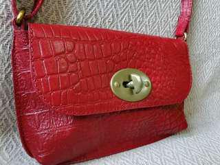 Red Sling Bag #UNDER90