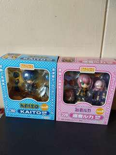 Good Smile Company Authentic Nendoroid 202 & 220 cheerful Japan Kaito & Megurine Luka