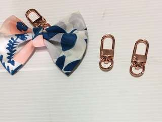Rose gold clasp for DIY bow