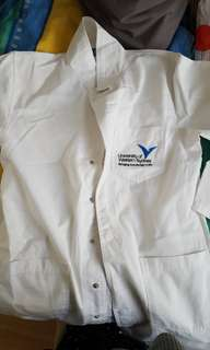 UWS/WSU white lab coat