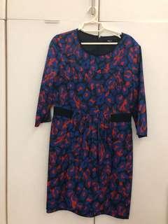 G2000 Printed Dress