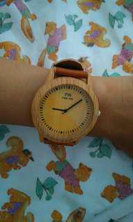 Jam tangan motif kayu Rp.150.000