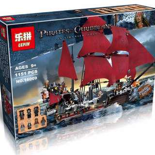 LEPIN16009 Pirates of Caribbean The Queen Anne's Revenge