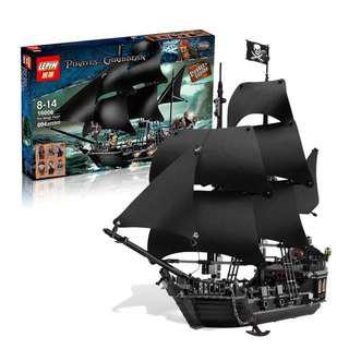 LEPIN 16006 Pirates of Caribbean Black Pearl