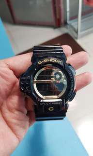 G Shock Altimeter Gold