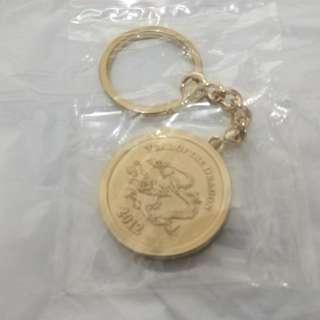 2012年匯豐生肖匙扣