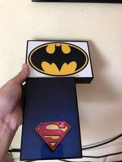 Batman and Superman decorative!
