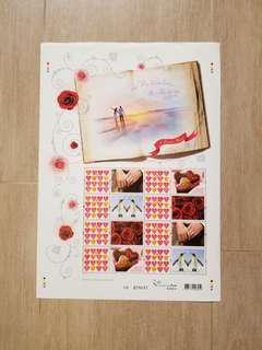 情人節2006年版心思心意郵票 香港郵政2012年2月14日發行