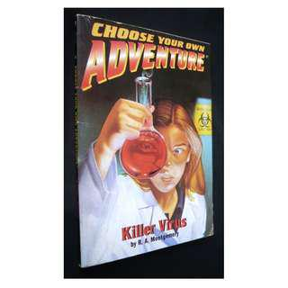 Choose Your Own Adventure #177 Killer Virus Gamebook by R.A. Montgomery