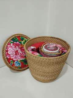 80年代 景德鎮 粉彩紅雙喜直筒壺 水壼 瓷器 結婚合用