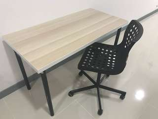 Ikea table and chair for sale