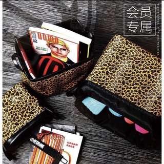 STAGE VIP Leopard Print Holder