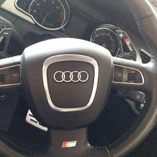 Audi A3 A4 A5 A6 金屬撥片
