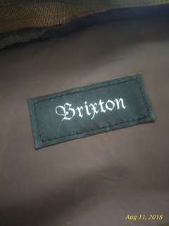 Brixton backpack authentic
