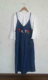 NEW !! Overall Dior denim