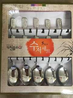 Korea spoon 5pcs $50