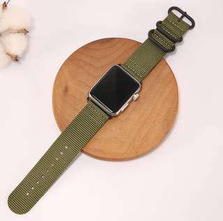 Nylon Adjustable Replacement Wristband Strap Apple iWatch 42mm