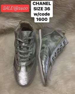 Chanel sneakers size 36 w/ code
