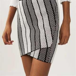 Maje fitted mini skirt