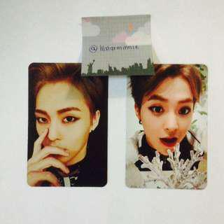(REDUCED PRICE) EXO Xiumin Official Photocard From Lotto & Sing For You
