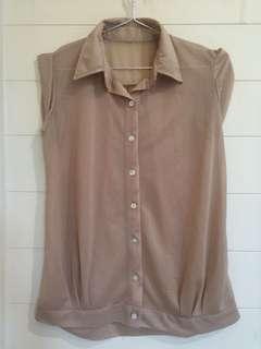 MOCCA Semi Sleeve Shirt Kemeja Kerja IMPORT