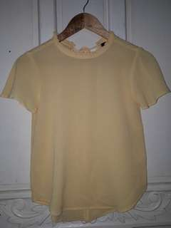 For Me Yellow Top