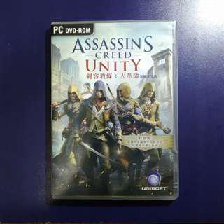 Assassin's Creed Unity 剌客信條:大革命 繁中 PC DVD