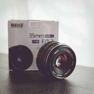 Meike 35mm F1.7 for Sony E-mount