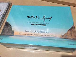 太陽的後裔 (韓國導演版) DVD