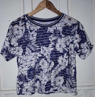 Stradivarius Floral Top