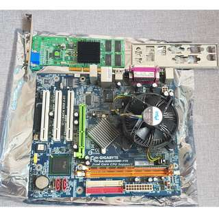 gigabyte motherboard with cpu | Electronics | Carousell