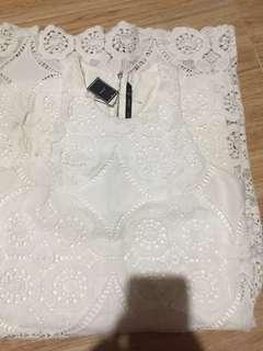 Forme White dress