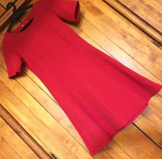 P&Co Red Skater Dress
