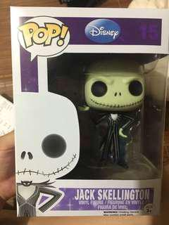 Funko POP Jack Skellington Disney Nightmare before Christmas #15 手辦 模型
