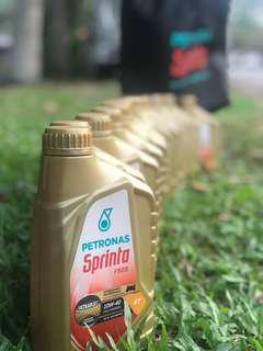 Petronas F900 Full Synthetic 10W40 Engine Oil