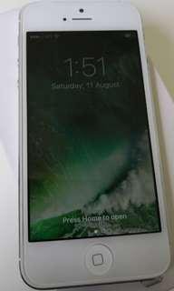 iphone 5 (16G) Silver