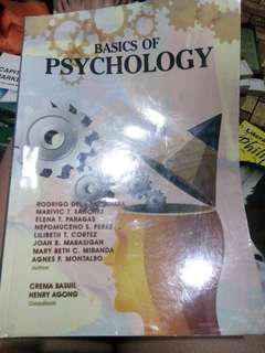 Psychology, physical science, study &thinking skills, literary treasures of the Philippines