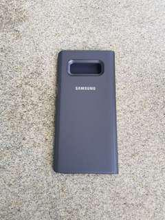 Samsung note8 led flip case