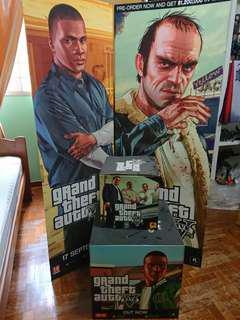 Grand Theft Auto V Promo Boxes and Standees