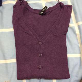 H&M Purple Pullover
