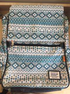 Green Tribal Bag Pack