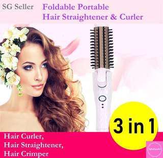 Hair Straightener/Hair Curler/Hair Crimper (Brand New)