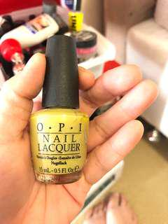 Opi nail colour