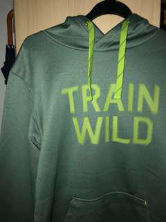 """Authentic North Face """"Train Wild"""" workout pullover Hoodie"""